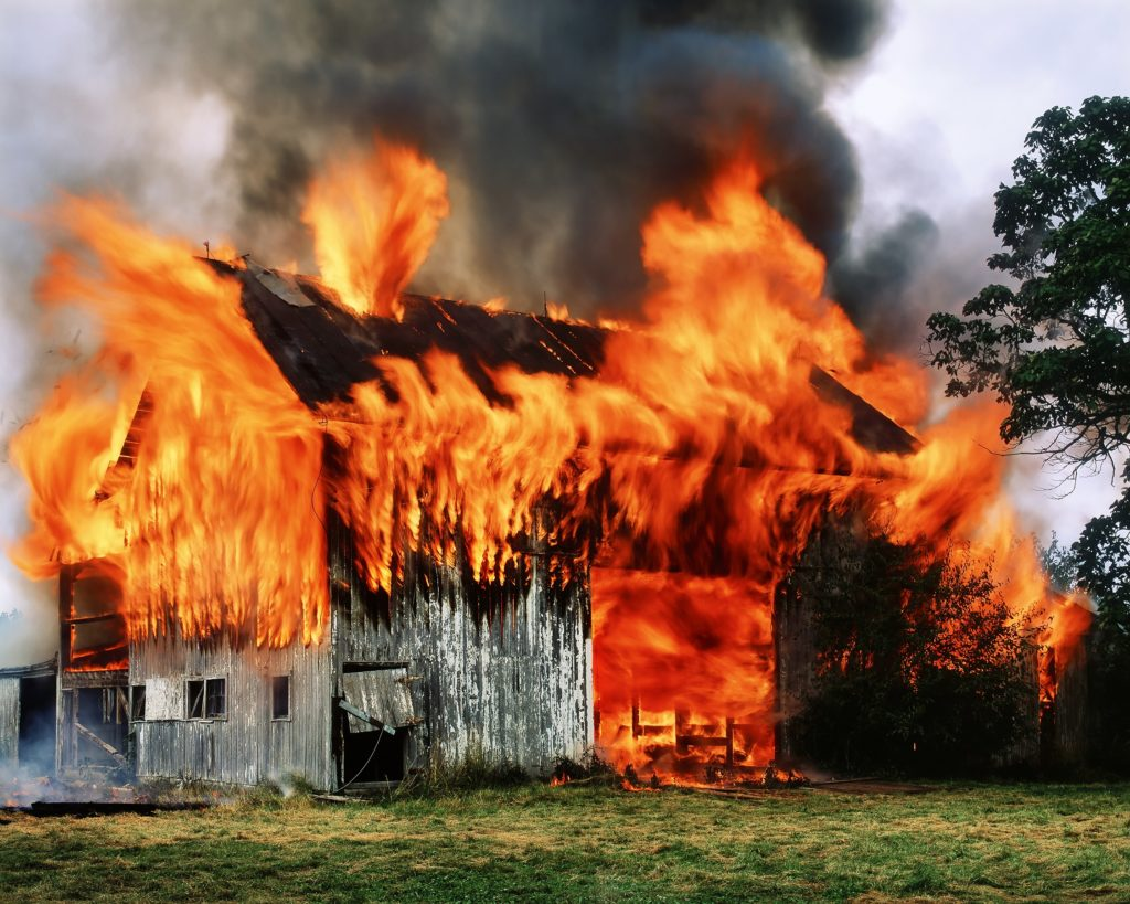 Barn burning vs two kinds